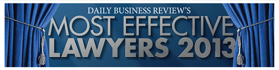Most Effective Lawyers 2013