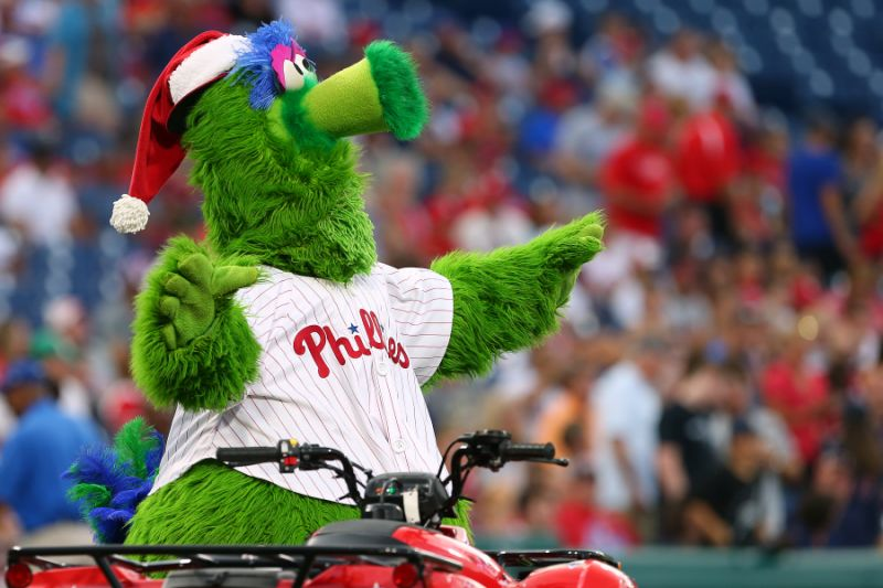 Is the Phillie Phanatic in Trouble?